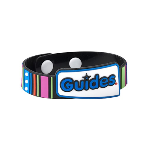 Guides welcome PVC wristband