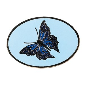 Patrol pin badge butterfly