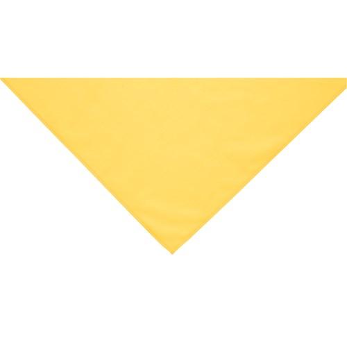 Yellow neckerchief scarf