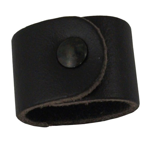 Leather woggle for neckerchiefs