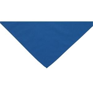 Blue neckerchief scarf