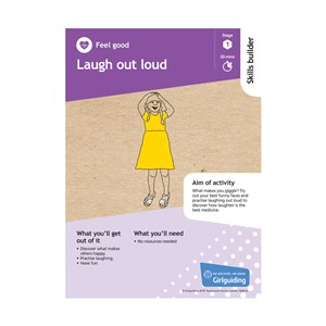 Feel good skills builder stage 1 Laugh out loud activity resource