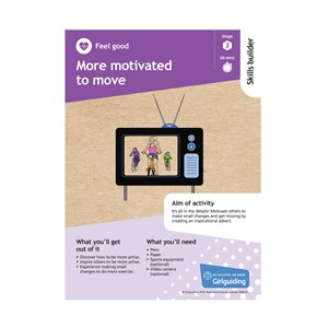 Feel good skills builder stage 3 more motivated to move activity resource