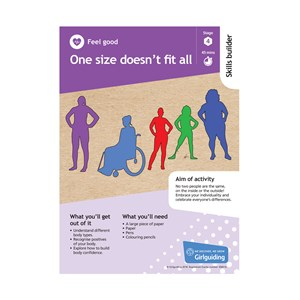 Feel good skills builder stage 4 one size doesn't fit all activity resource