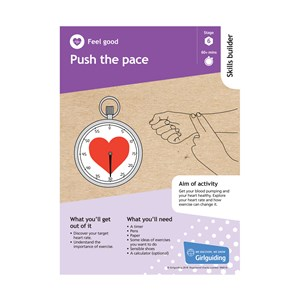 Feel good skills builder stage 6 push the pace activity resource