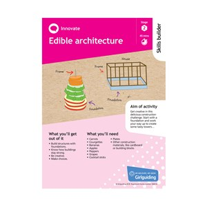 Innovate skills builder stage 2 Edible architecture activity resource