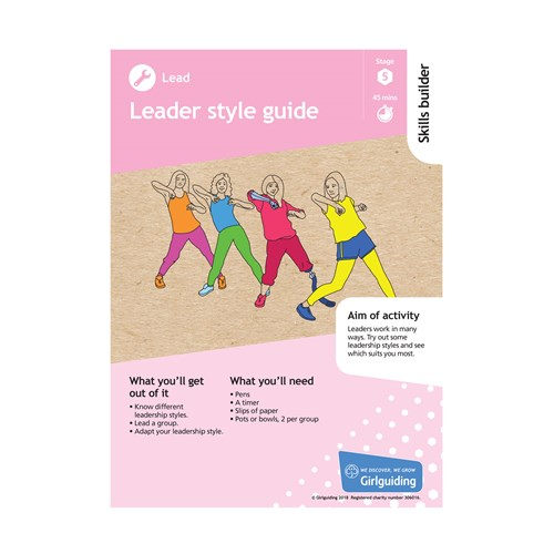 Lead Skills builder stage 5 Leader style guide activity resource