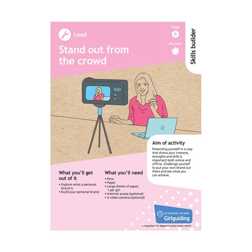 Lead skills builder stage 6 Stand out from the crowd activity resource