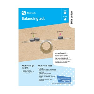 Network skills builder stage 6 balancing act activity resource