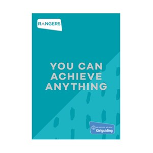 Rangers You can achieve anything booklet