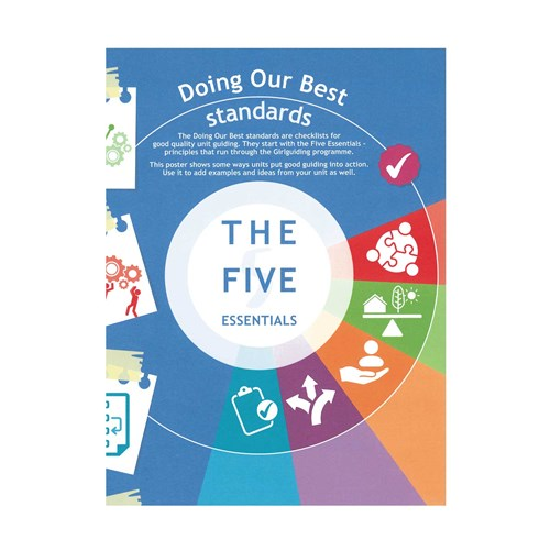Girlguiding Doing our best The five essentials material