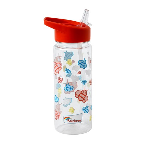 Rainbows recyclable water bottle