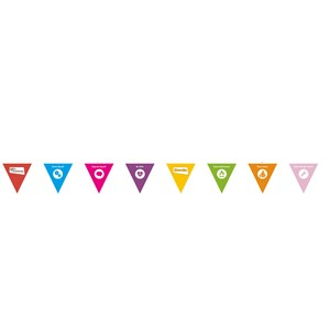 Programme theme resource banner bunting