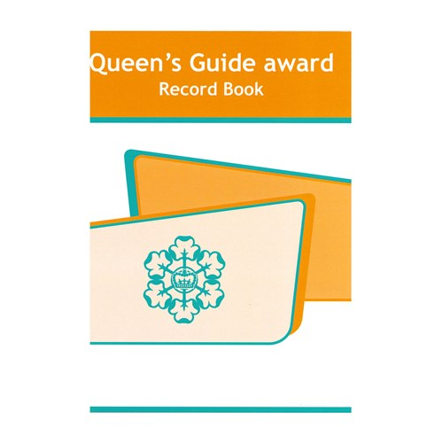Queen's guide award old record book