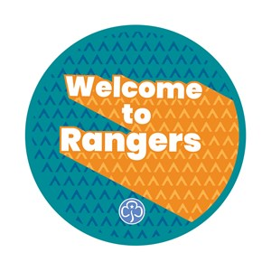 Welcome to Rangers woven badge