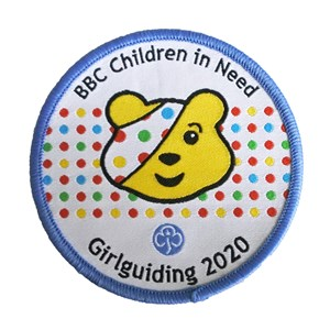 Children in Need Pudsey woven badge