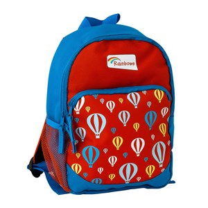 Rainbows backpack with pockets and balloons