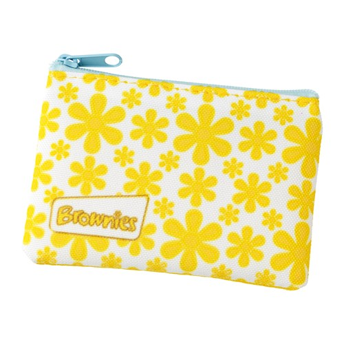 Brownies purse with yellow flowers