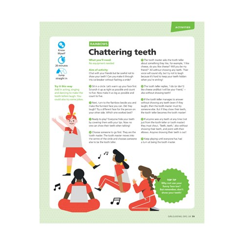 Chattering teeth UMA