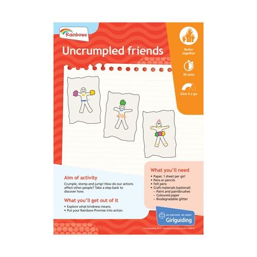 Uncrumpled friends UMA