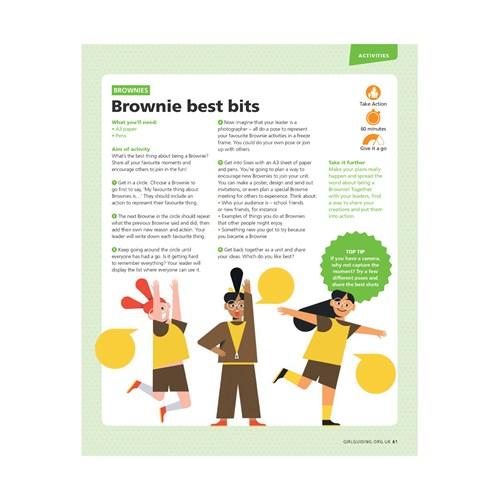 Brownie best bits UMA