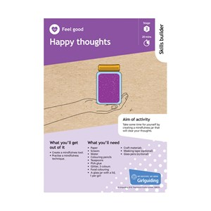 Happy thoughts skills builder