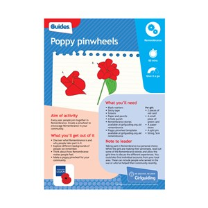 Poppy pinwheels UMA