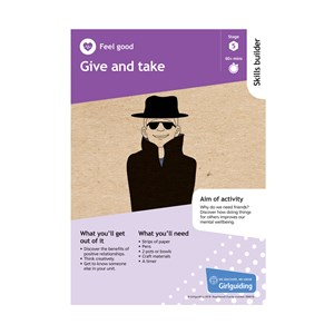 Give and take skills builder