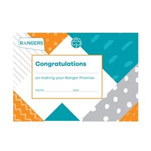 Rangers promise certificate