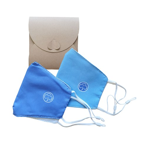Adult face covering pack of 2