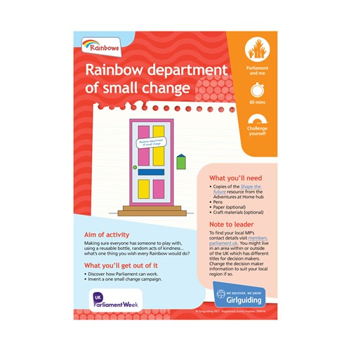 UMA Rainbows department of small change