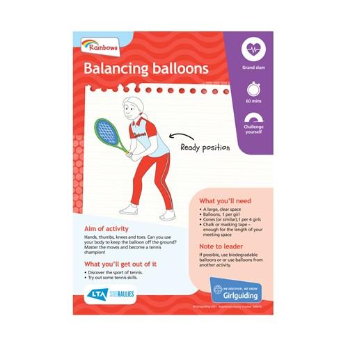 UMA Rainbows Balancing balloons