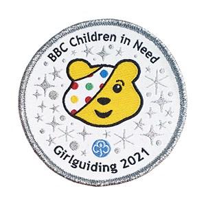 BBC Children in Need 2021 woven badge